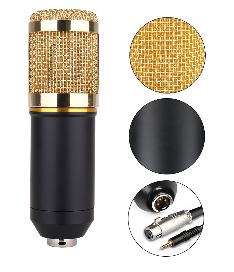 BAOBAOMI broadcasting table condenser microphone for computer
