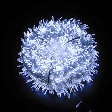 LEADLY 10 м 100LED гирлянда 9 цветов Рождественские огни сказочные огни заглушка светящиеся мерцающие огни для декора спальни свадьбы(Китай)