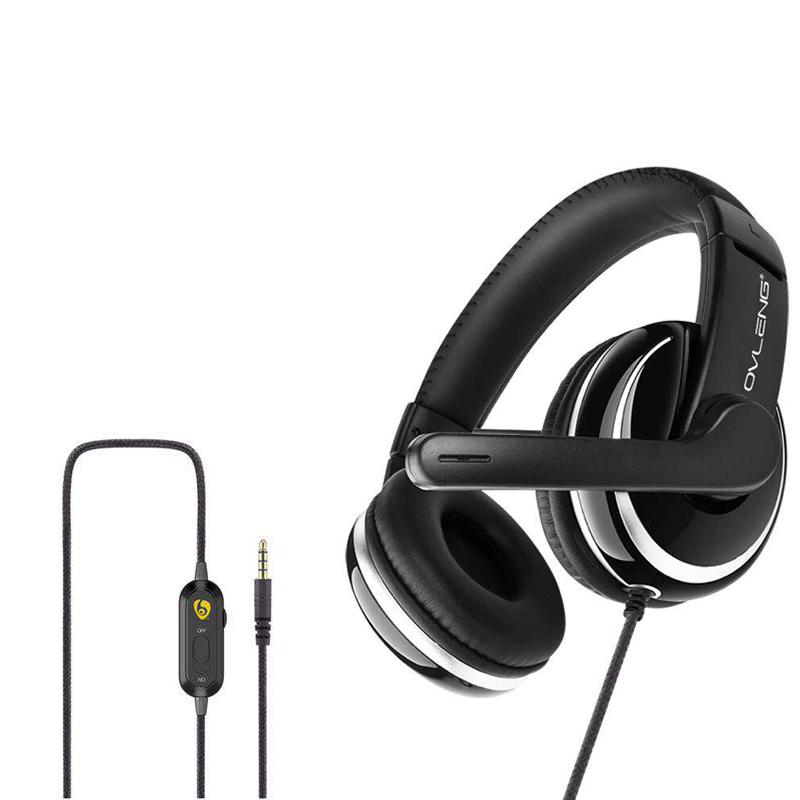 Wiredหูฟังชุดหูฟังสำหรับเล่นเกม 7.1 พร้อมไมโครโฟนสำหรับPS4