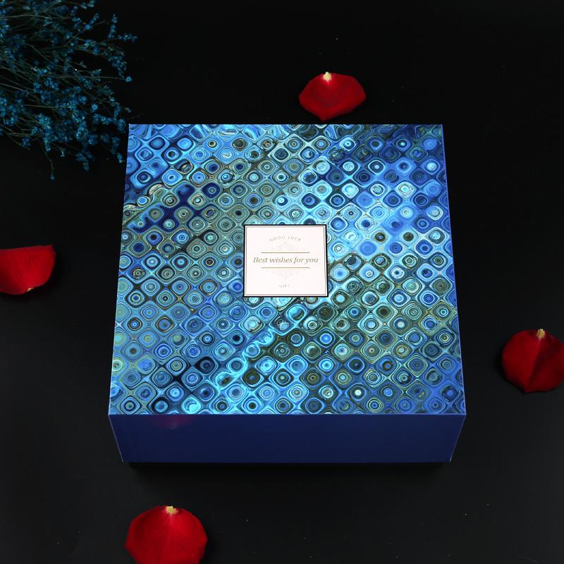 الجملة صندوق كرتون هدية صندوق مستحضرات التجميل صندوق كرتون هدية مع سعر الغطاء
