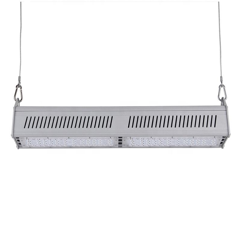 High Lumen 130lm/w 150W Led Linear High Bay light waterproof IP65 warehouse factory lamp