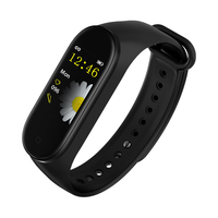 M4 bT 4.0 Smart band colorful blood pressure heart rate monitor fitness sport bracelet waterproof watch