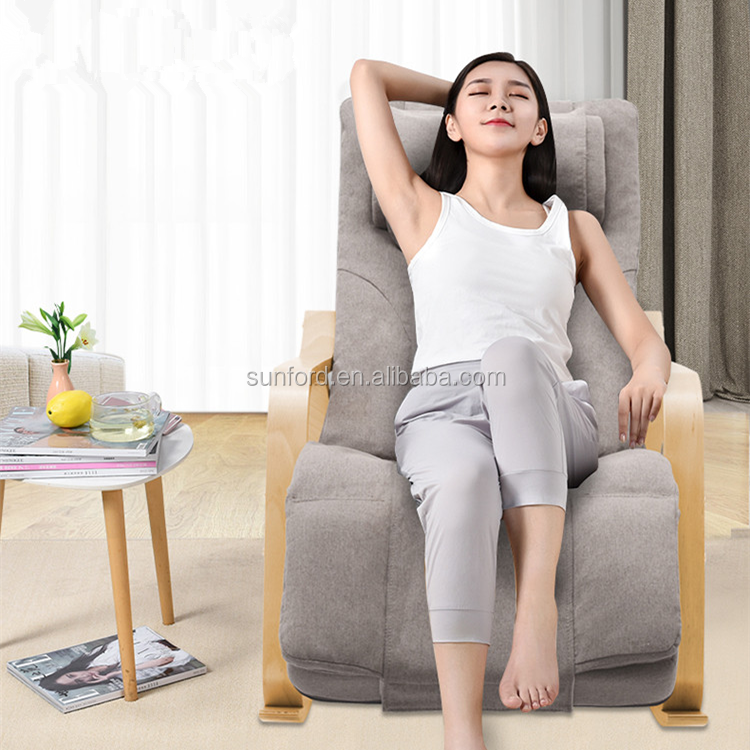 Healthcare Comfortable Electric Wood Leisure Reclining Body Chair Massage