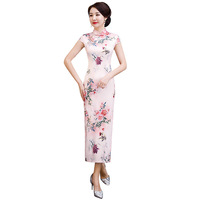 Z55112B Sleeveless Fashion Cheongsam Qipao