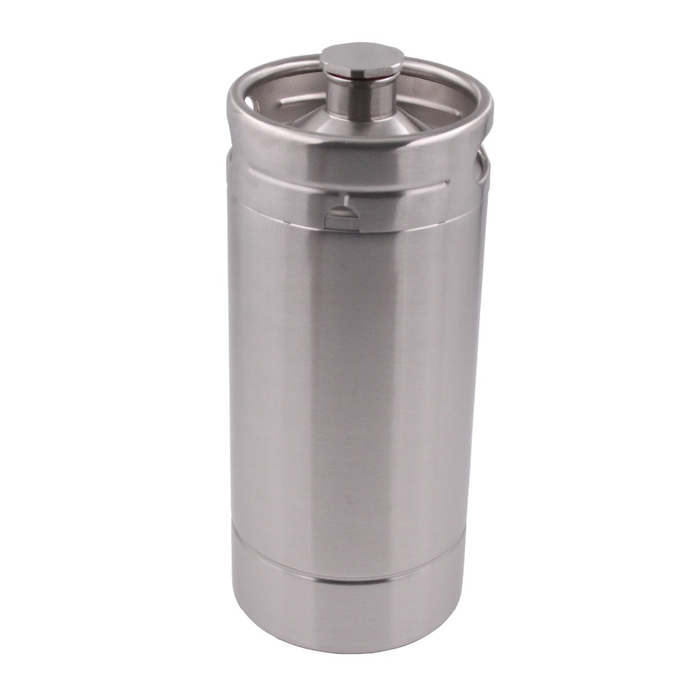 wholesale stainless steel food grade portable gift set package one gallon custom co2 tabletop home draft beer dispenser