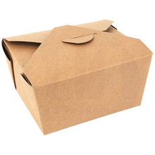Kraft <span class=keywords><strong>Papier</strong></span> Kleine Carryout Takeout Lebensmittel Box Container Kraft starke <span class=keywords><strong>Papier</strong></span> Box verpackung