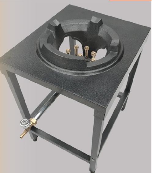 Lyroe High Efficient 230,000 BTU Cast Iron Wok 18 Tip Gas Burner