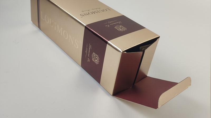Custom Luxury Wine Box Wholesale Handmade Cardboard Paper Box Packaging Bottle Packing Gift Box With Ribbon Handle