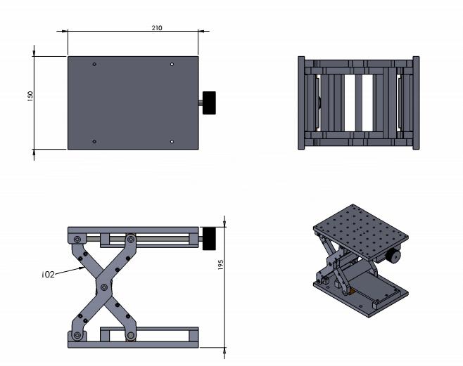 Fiber Laser 3d Working Table