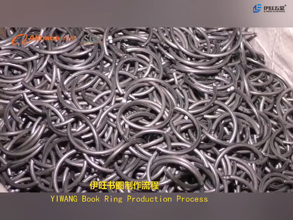 Hot Sale 90mm Metal Book Binder Ring