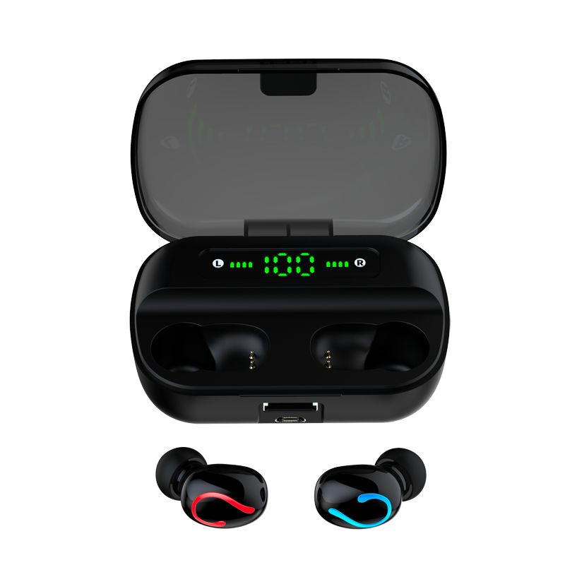 Pabrik Grosir Tws Q61 Nirkabel Bluetooths Earphone Earbud Handsfree Earplug