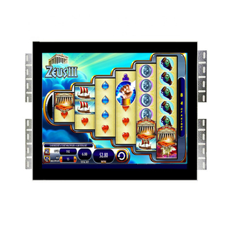 19 inch lcd infrared touch screen monitor embedded POG game monitor with USB RS232