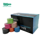 Kt Tape All Kinds Of Tape 5cm*5m Kt Waterproof Precut Kinesio Adhesive Tape For Athletic