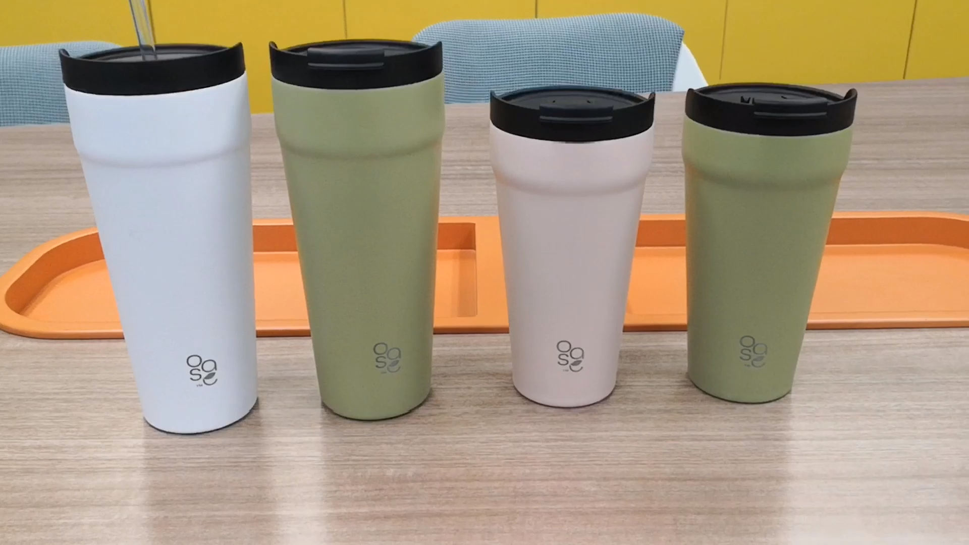 15 OZ Double Walled Stainless Steel Travel Car Tumblers with lid Wholesale