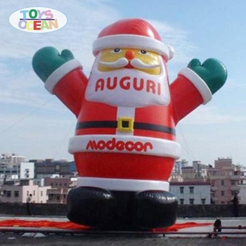 Large Christmas Inflatable Santa Claus For Event Advertising Party Decorations air-blown inflatable