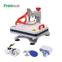 5 in 1 Combo Flatbed T-shirt Printing Heat Press Machine (P8200)