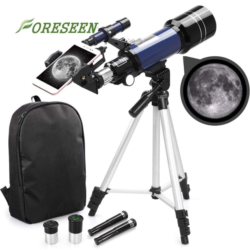 Amazon Hot Selling 70300 Professionele Mobiele Telefoon Refractor Astronomische Telescoop/Telescopio Te Bekijken Maan En Plant