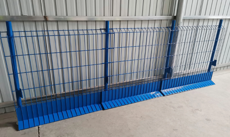Powder Coated Safety Fence Temporary Fall Prevention Edge Protection Barrier Fencing