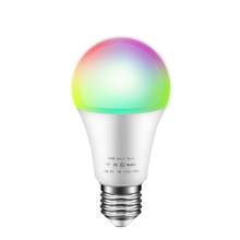 Smart Bt Wifi Remote Control ZigBee Nirkabel RGB <span class=keywords><strong>LED</strong></span> Bulb 12 Watt Bohlam <span class=keywords><strong>LED</strong></span>