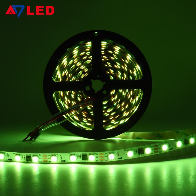 LED Tape RGB 5050 Control Smart LED Strip RGB Wifi Light Addressable RGB LED Strip Music Sync Animation LED Strip