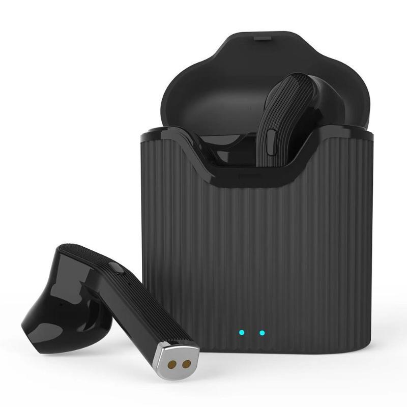 Wholesale Portable Wireless Mini Earphone True Earbuds In-ear HiFi Headset with Charging Box