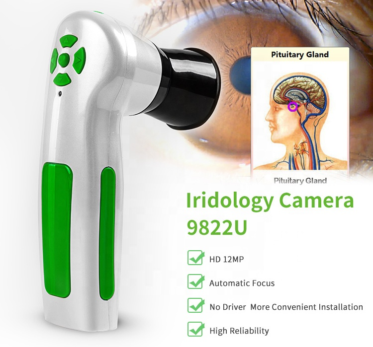 Iris Original cámara digital de 12 mp dispositivos de cuidado de la salud