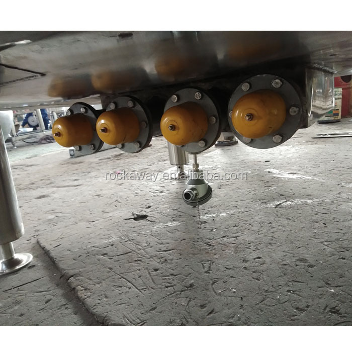 500L capacity stainless steel cheese vat for dairy /cheese production line