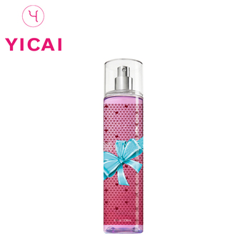 Long-lasting Fragrance Moisturizing Body Spray Oem Plastic Perfume Bottle With Cap Pump