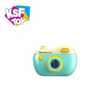 HD cartoon mini digital kids camera toy for take photo video recording playing game