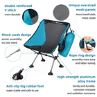 Folding Chair Folding Camping Chair Wear Resistant Foldable Portable Official Authentic Portable Folding Camping Chair