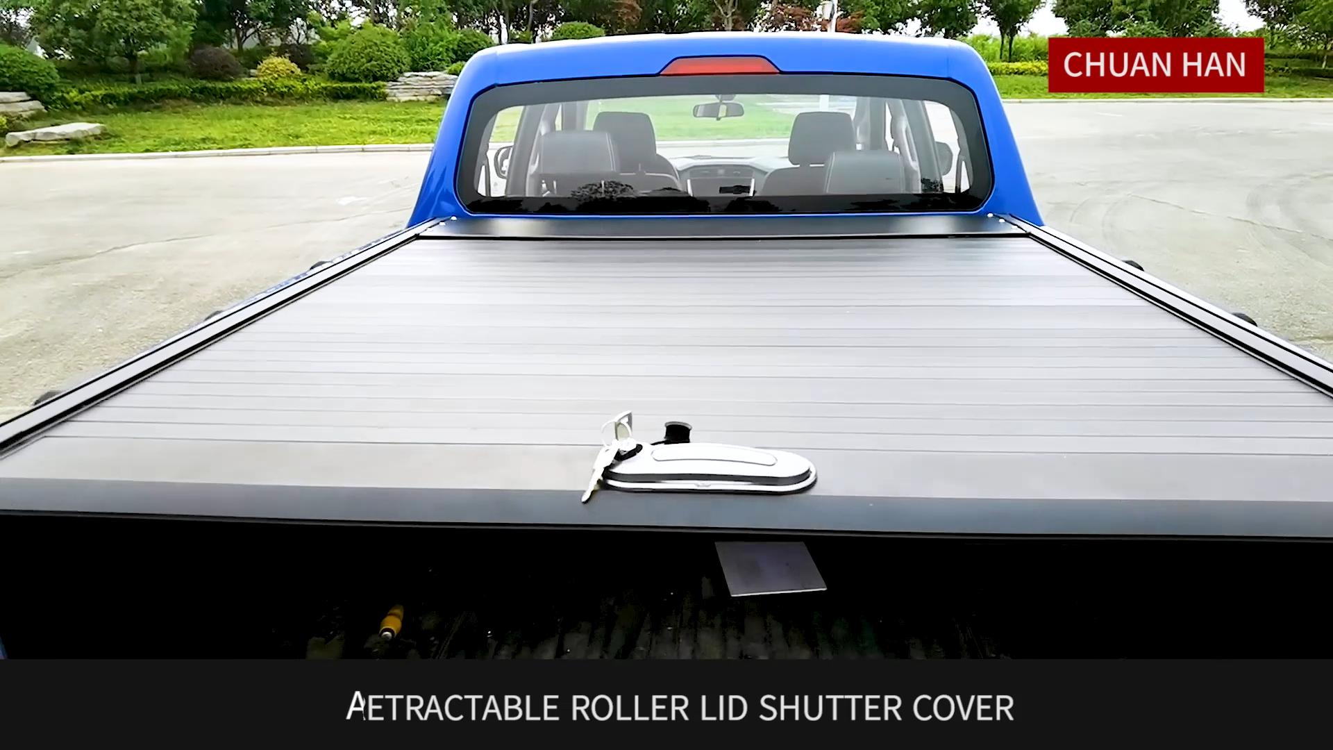 Custom Retractable Tonneau Cover Roller Lid for GMC Sierra silverado Colorado