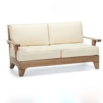 Outdoor Indoor Double Wooden Sofa Seat