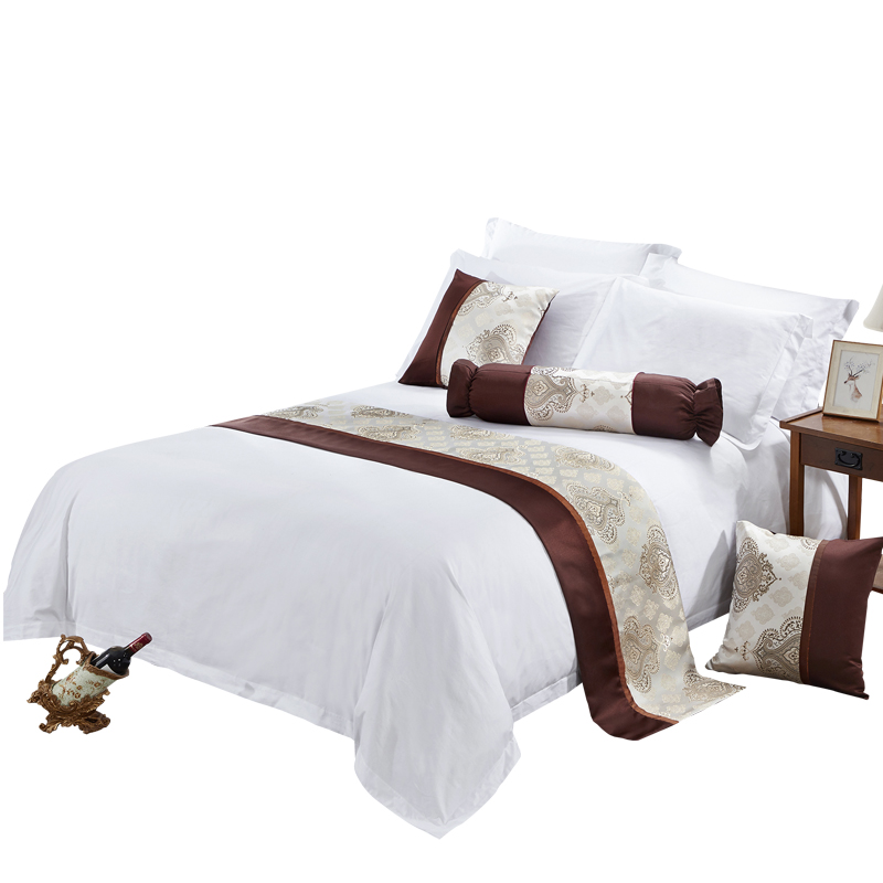 100% Cotton Bed Sheet From China White Satin Bed Sheet Set