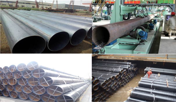 API 5L X42 X60 X65 X70 X52 LSAW Steel Pipe For Petroluenm Oil And Gas Pipe