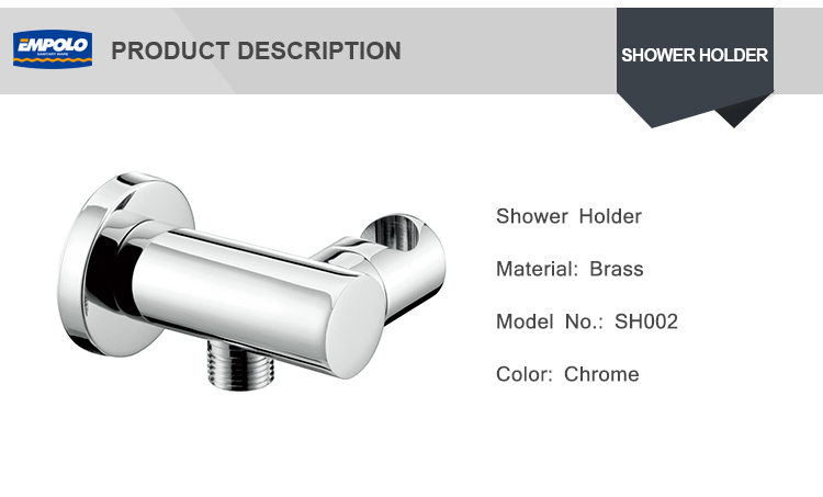 Hot Sale Shower Accessories brass material chrome Hand Shower Holder