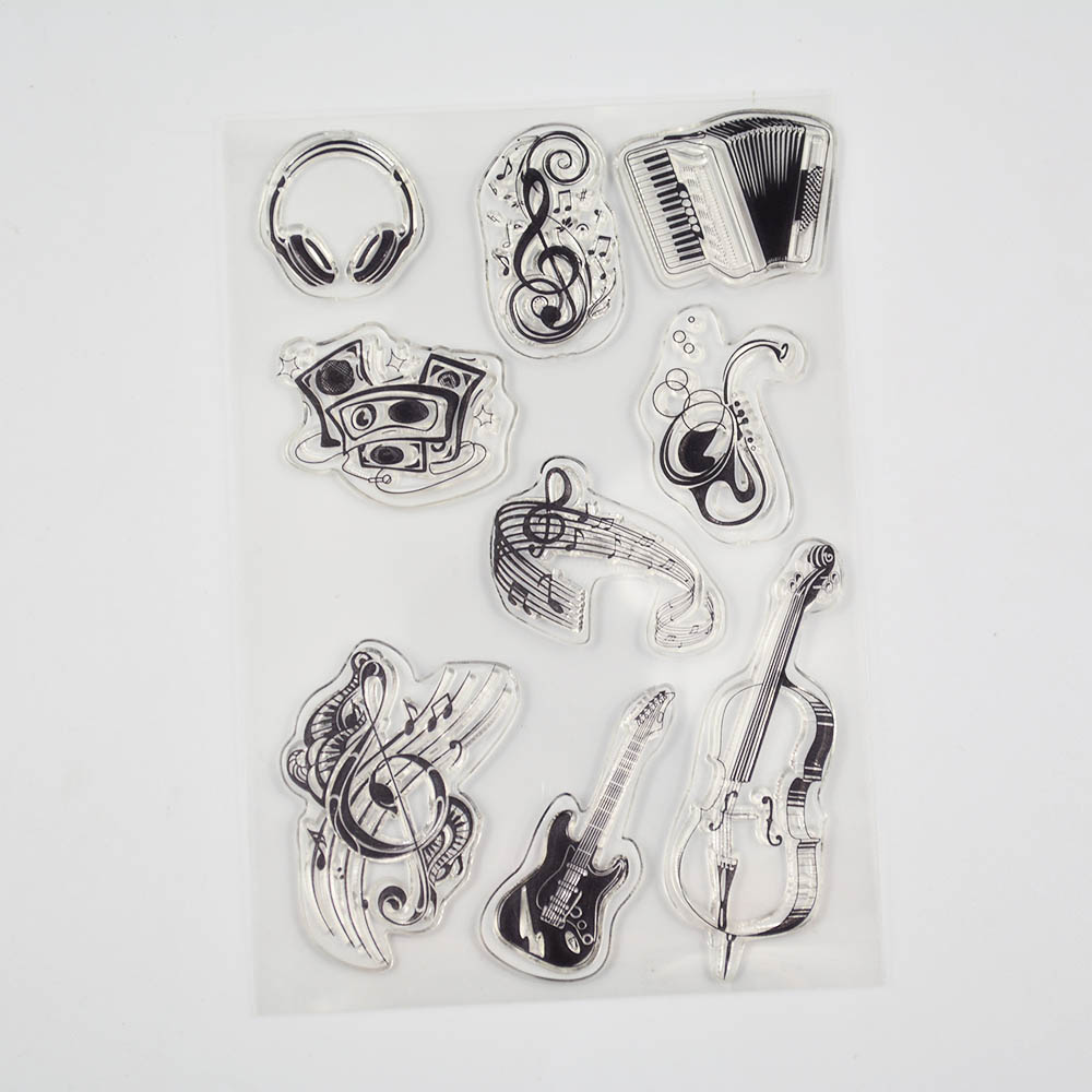Цветок и бабочка дешевый прозрачный Штамп для DIY скрапбукинга/изготовление открыток/детские рождественские украшения(Китай)