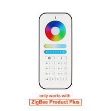 Zigbee пульт дистанционного управления RGBCCT WW/CW Led control ler DC12/24 V led strip control ler smart Голосовое управление работа с amazon echo plus(Китай)