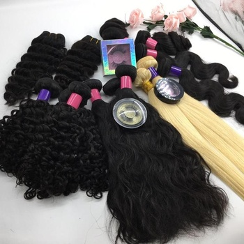 Free sample bundle New products natural raw Brazilian 100 % human hair