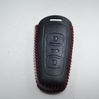 Genuine Leather Fob Remote Key Cover Car Key Pouch For emgrand