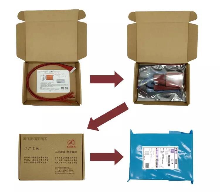 スマートリチウム電池lifepo4 bms 48v 16s 150a bmsリチウム電池uart/bluetooth/RS485/can通信