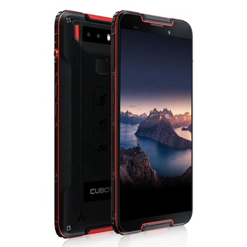 IP68 Waterproof 4G smartphone CUBOT QUEST 5.5inch Helio P22 Octa-Core 4GB+64GB 4000mAh Android 9.0 Face ID NFC Global Band phone