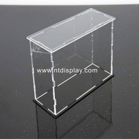 Wholesale Custom Made Cheap Clear White Large Small Plexiglass Packaging Boxes Rectangle Square Acrylic Storage Box With Lid