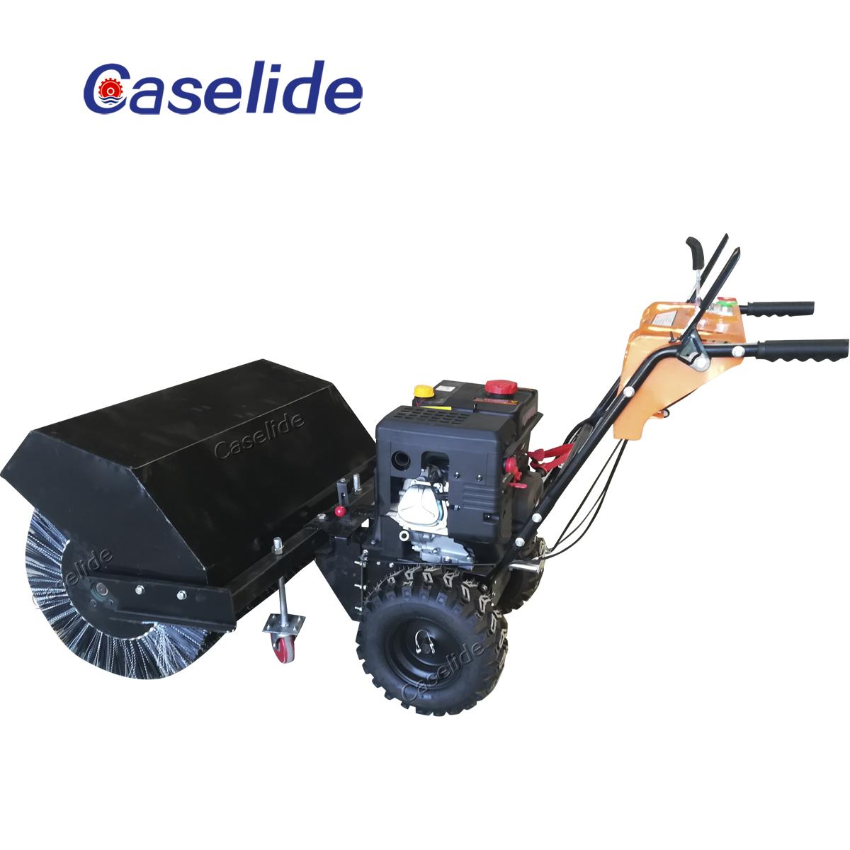 Snow blower engine light to snow blower snowplow led light
