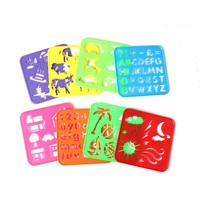 reballing kids painting journal drawing template stencil ruler
