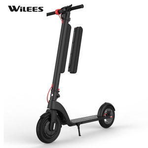 2019 New Arrival Big Wheel 10 inch Electric Scooter with External Battery Adult Scooter