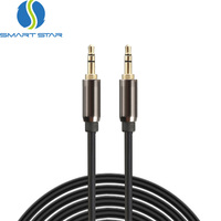 High Quality 3.5mm Male to Male Stereo Jack Aux Audio Cable for Car Headphone