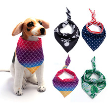 Pet Lavabile Triangolo Plaid Pet Dog Bandana Dimensioni Funny Dog Bandana Modello di Cucitura di Trasporto