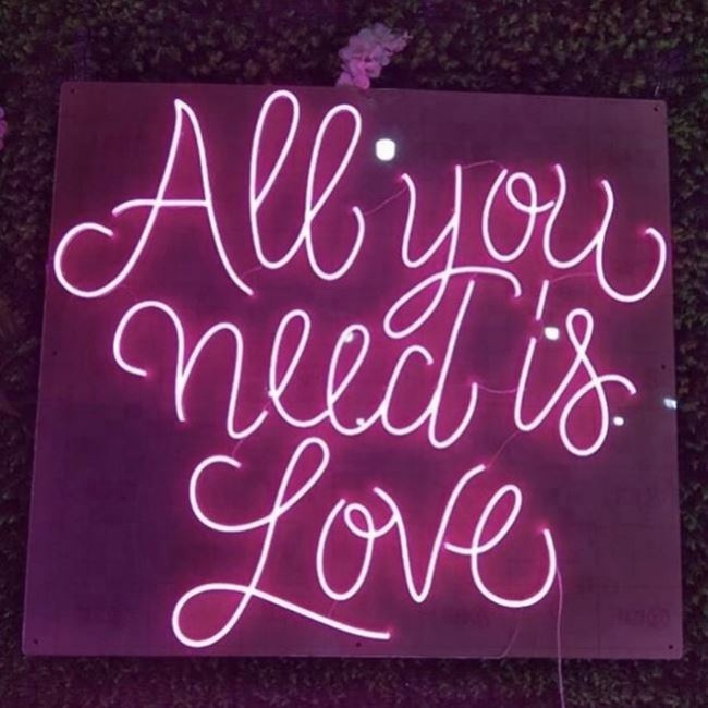 Best Quality China Manufacturer Custom Neon Signs Soft Flex Wall Mounted Lights