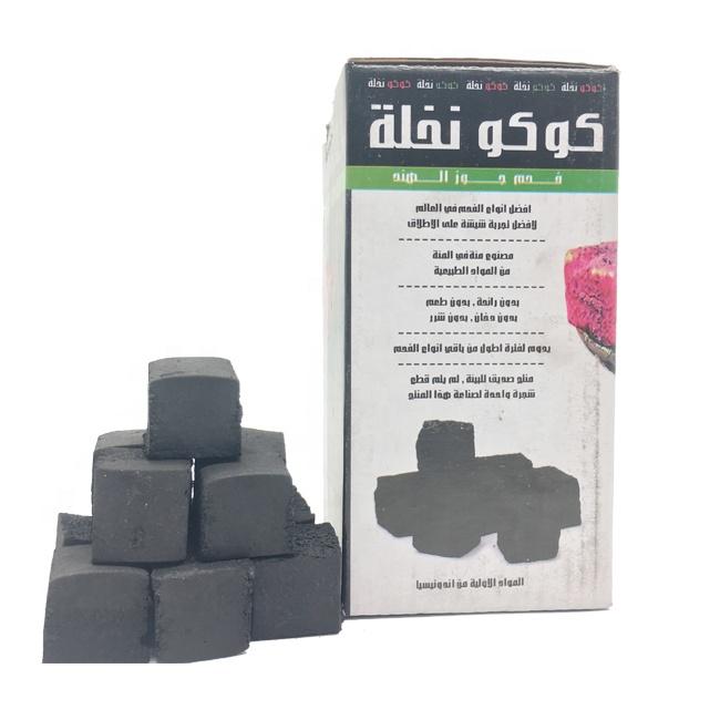 HQCH0025 Smokeless shisha cubic coal briquettes for Shisha/hookah