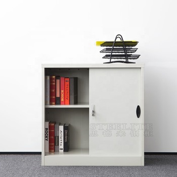 free shipping metal garage tools storage boxes cabinet/small cupboard two sliding doors low cabinet